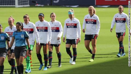 Soccer: US women's team 'past the protesting phase' of anthem debate