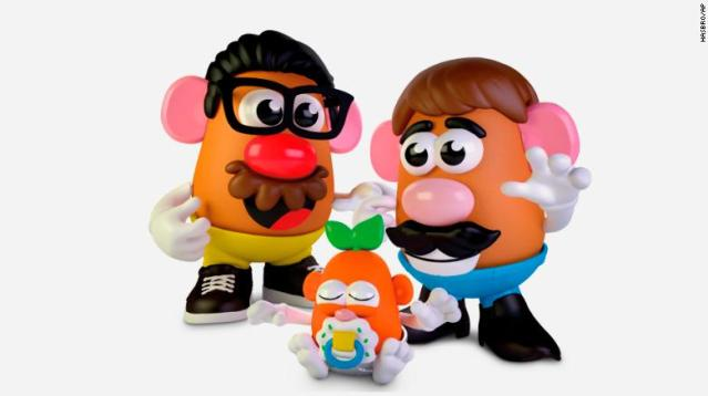 Mr. Potato Head is no longer a mister.