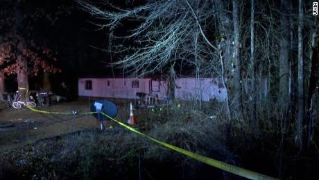 Parts of an airplane struck a home in Gainesville, Georgia during a crash on Friday, killing 3 on board