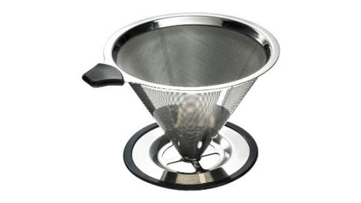 Yitelle Stainless Steel Pour-Over Coffee Cone Dripper