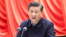 President Xi Jinping addresses the opening of a training session for young and middle-aged officials at the Party School of the CPC Central Committee National Academy of Governance on March 1.