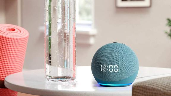 Echo Dot with clock (4th Gen)