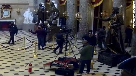 West Virginia Man Charged With Stealing Equipment Of C-SPAN Employees During Capitol Riots