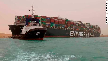 Suez Canal traffic jam blocks the world's jugular vein