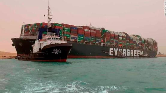 Suez Canal: Tugboats resume efforts to clear blockage of Ever Dado container ships in Egypt as congestion increases