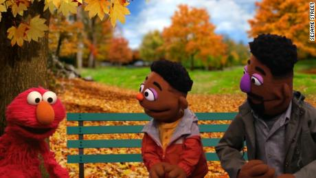 "Wesley Walker and his father, Elijah, are two new African American characters on ""Sesame Street."""