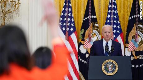Biden calls state GOP voting restrictions efforts 'sick' and 'un-American'