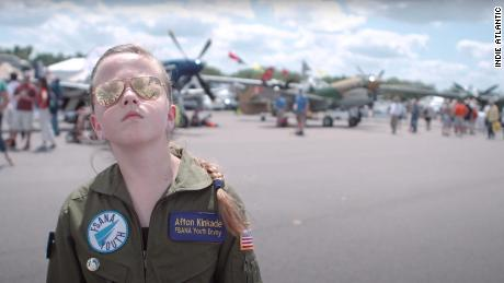 & Quot;  Fly Like a Girl, & quot;  A young girl wishes to change the face of aviation.