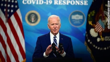 Biden says 90% of adults will be vaccine eligible in three weeks