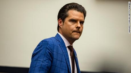 Gaetz showed nude photos of women he said he'd slept with to lawmakers, sources tell CNN