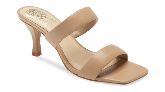 Vince Camuto Aslee 2-Strap Slide Sandal