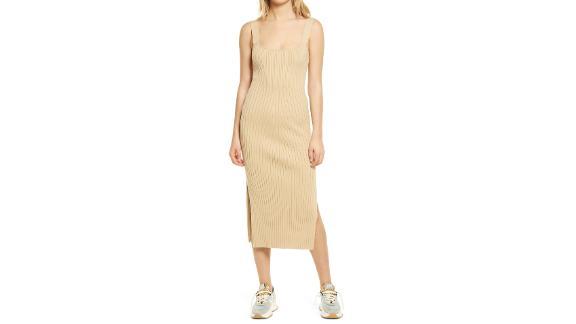 Wayf Gillian Ribbed Tank Dress