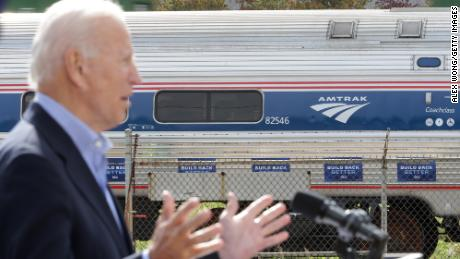 This is Amtrak's new dream map after Biden's infrastructure push