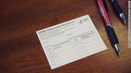 You should think twice before laminating your vaccine card