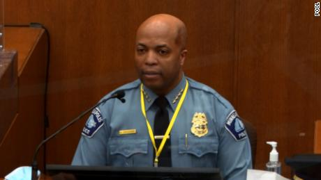 Minneapolis Police chief says Derek Chauvin's actions were 'in no way, shape or form' proper