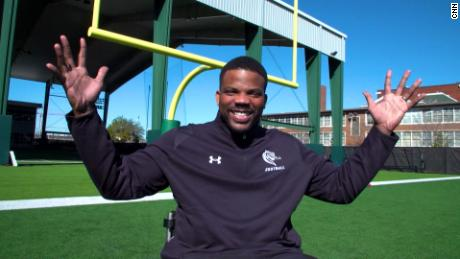 An accident derailed this NFL hopeful's dreams. Now he's coaching others to reach theirs