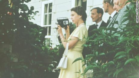 Unseen footage of Queen Elizabeth revealed