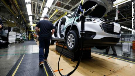 GM car prices surge as more plants close during the chip shortage