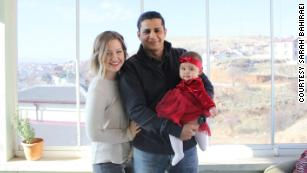 Sarah Bahiraei, a US citizen, married Afshin Bahiraei, from Iran, in 2017. They have been living in Turkey with their daughter, Esther, while trying  to get a spousal visa for Afshin to emigrate to the US.