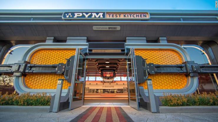 Pym Test Kitchen is an eaterie based on the Ant-Man character. (Christian Thompson/Disneyland Resort)