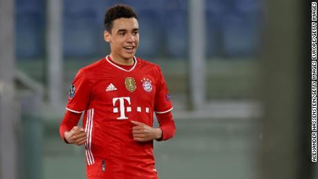 Jamal Musiala has played his way into Bayern Munich's first team this season.