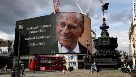 Britain looked like it was in national mourning after Prince Philip's death. Not all of it was.