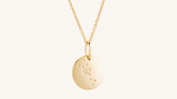 Taurus Necklace Vermeil