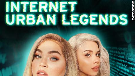 (From left) Lou Lane and Eleanor & quot;  Snachery & quot;  Barnes is the host of the Spotify series & quot;  Internet Urban Legends.  & quot;