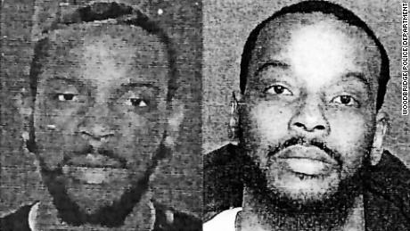 """Police used an image of the suspect taken from a fake driver's license left at the scene (left) to run a facial recognition scan. It returned a """"high profile comparison"""" to Nijeer Parks (right)."""