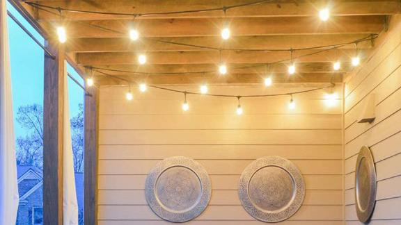 Brightech Ambiance Pro Waterproof Outdoor String Lights