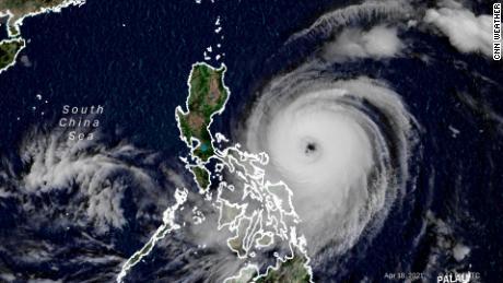 Shantou Suriga Satellite Image Sunday, April 18, 2021
