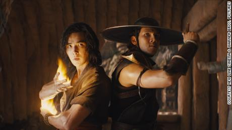 """(From left) Ludi Lin and Max Huang are shown in """"Mortal Kombat."""""""