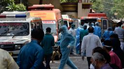 India sets Covid-19 infection record for third straight day