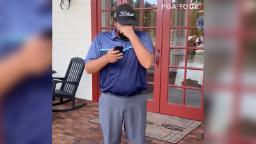 Golfer shares powerful phone call with dad after PGA Tour dream comes true