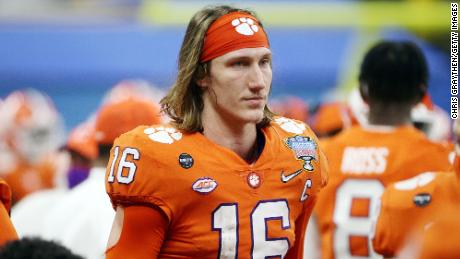 Trevor Lawrence made his name for the Clemson Tigers, and many tip him to be the first pick.