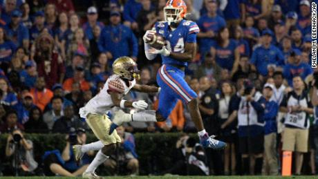 Florida tight end Kyle Pitts could be a favourite after the quarterbacks.