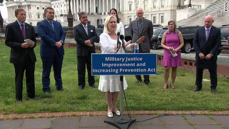 Senators introduce bill to change how military sexual assault cases are prosecuted