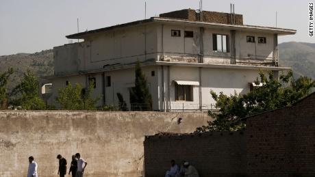 Osama Bin Laden  was killed during a raid by U.S. special forces at this compound in Abottabad, Pakistan.