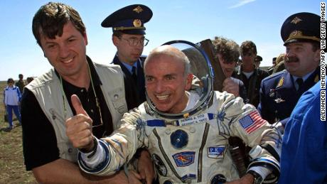 First space tourist: 'It was the greatest moment of my life'