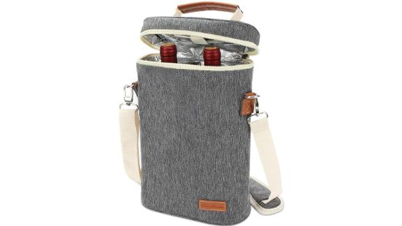 Zormy 2 Bottle Insulated Wine Tote Bag