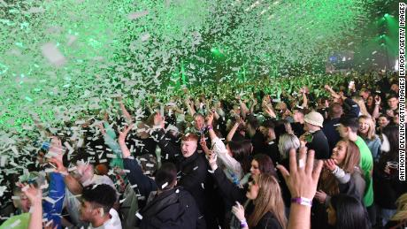"""Liverpool's director of public health Matt Ashton said the rave gave a """"glimpse of what we think the future might hold."""""""