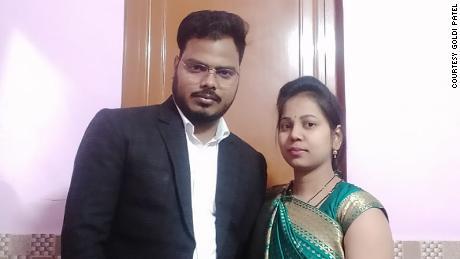 Goldi and Sadanand Patel.