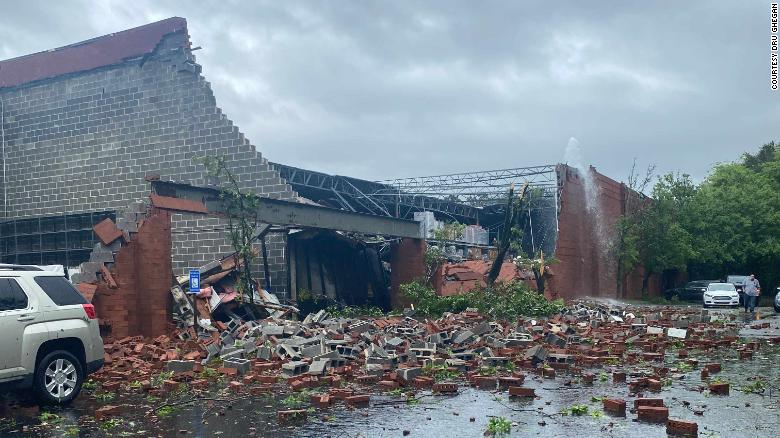 Tormenta tornados EE.UU.
