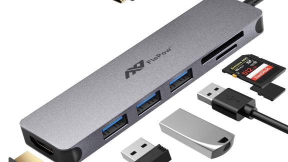 FlePow USB-C Hub Multiport Adapter