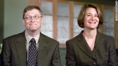 Bill and Melinda Gates announced the creation of the Gates Millennium scholarship progam.