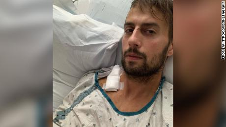 Ryan Fischer was shot while walking Lady Gaga's dogs.