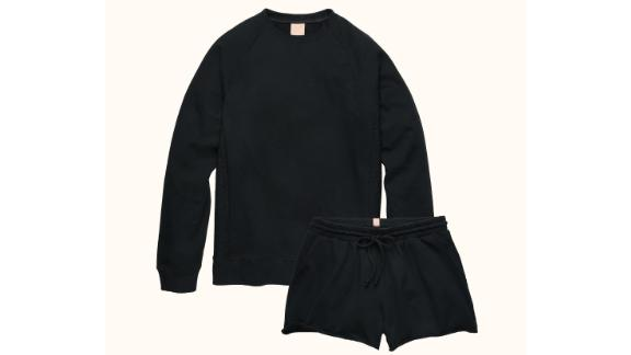The French Terry Short Set