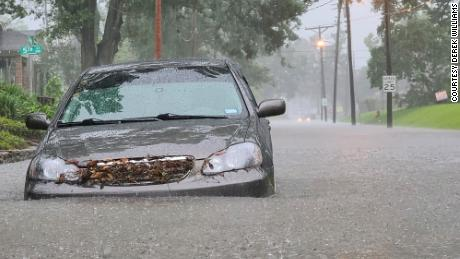More than 12 inches of rain hit Lake Charles on Monday -- the heaviest single-day rainfall total in the city in 41 years.