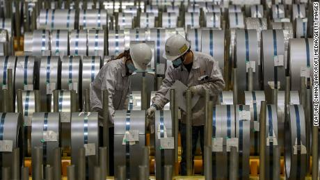 'Without an inch of steel.' Soaring metal prices spell trouble for China's recovery