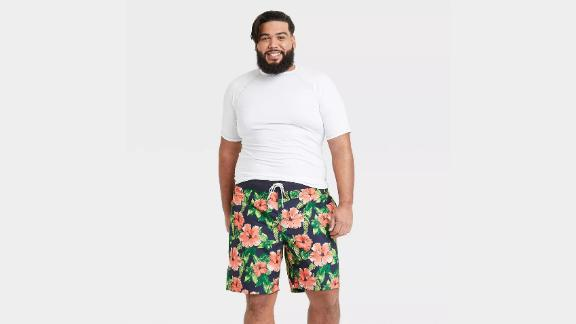 Goodfellow & Co. 9-Inch Floral Print Board Shorts